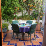 Jambo Guest House Courtyard